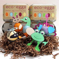 eco eggs, natural egg coloring kit