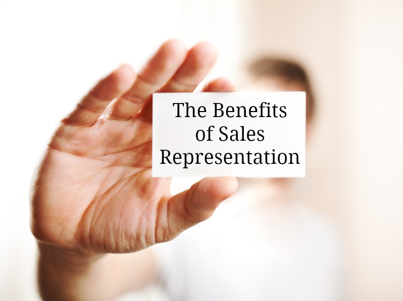 the benefits of sales representation