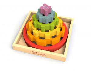 BeginAgain Toys Gear Stacking Rings